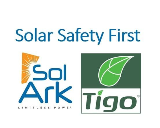 Sol-Ark and Tigo =Safety